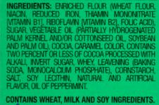 Food allergy label