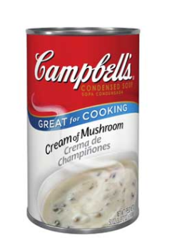 Cream of mushroom soup - Campbells
