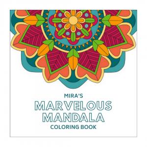 Mira's mandala coloring book