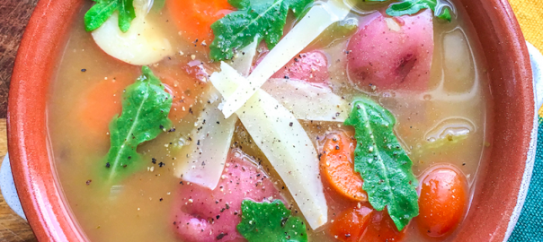 Summer Vegetable Soup - The Ingredient Guru Recipe